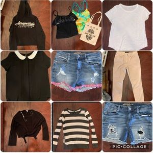 Summer and fall clothes bundle
